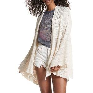 FREE PEOPLE   Ivory Kimono Sweater NWT